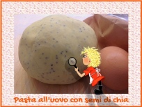 PASTA ALL'UOVO CON SEMI DI CHIA